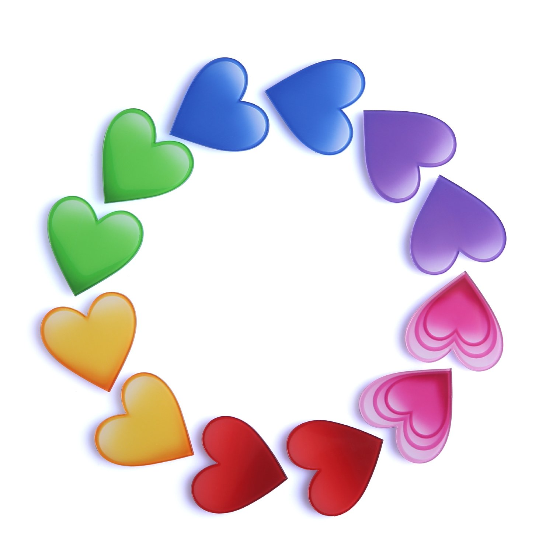 Refrigerator Magnet Fridge Magnet Kitchen Magnets Fun Magnets Decorative Magnets Cute Magnets (heart)