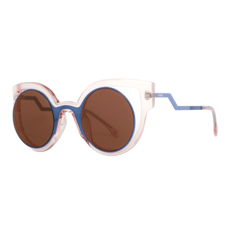Fendi Women's Round Cutout Sunglasses