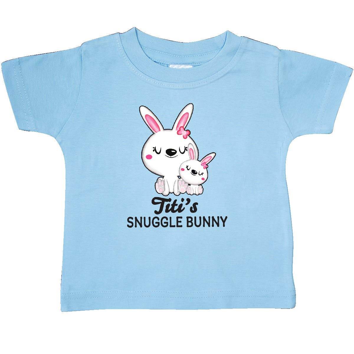 inktastic Titis Snuggle Bunny Easter Baby T-Shirt