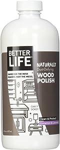 Better Life Oak-Y Dokey Wood Cleaner & Polish - 16 oz - Cinnamon & Lavender