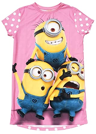 new product a4107 8b2b2 Despicable Me Despicable Me Mädchen Minions Polka-Punkte ...