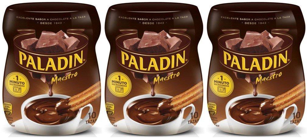 Paladin Chocolate a la Taza 350 gr. - [Pack de 3]: Amazon.es: Alimentación y bebidas