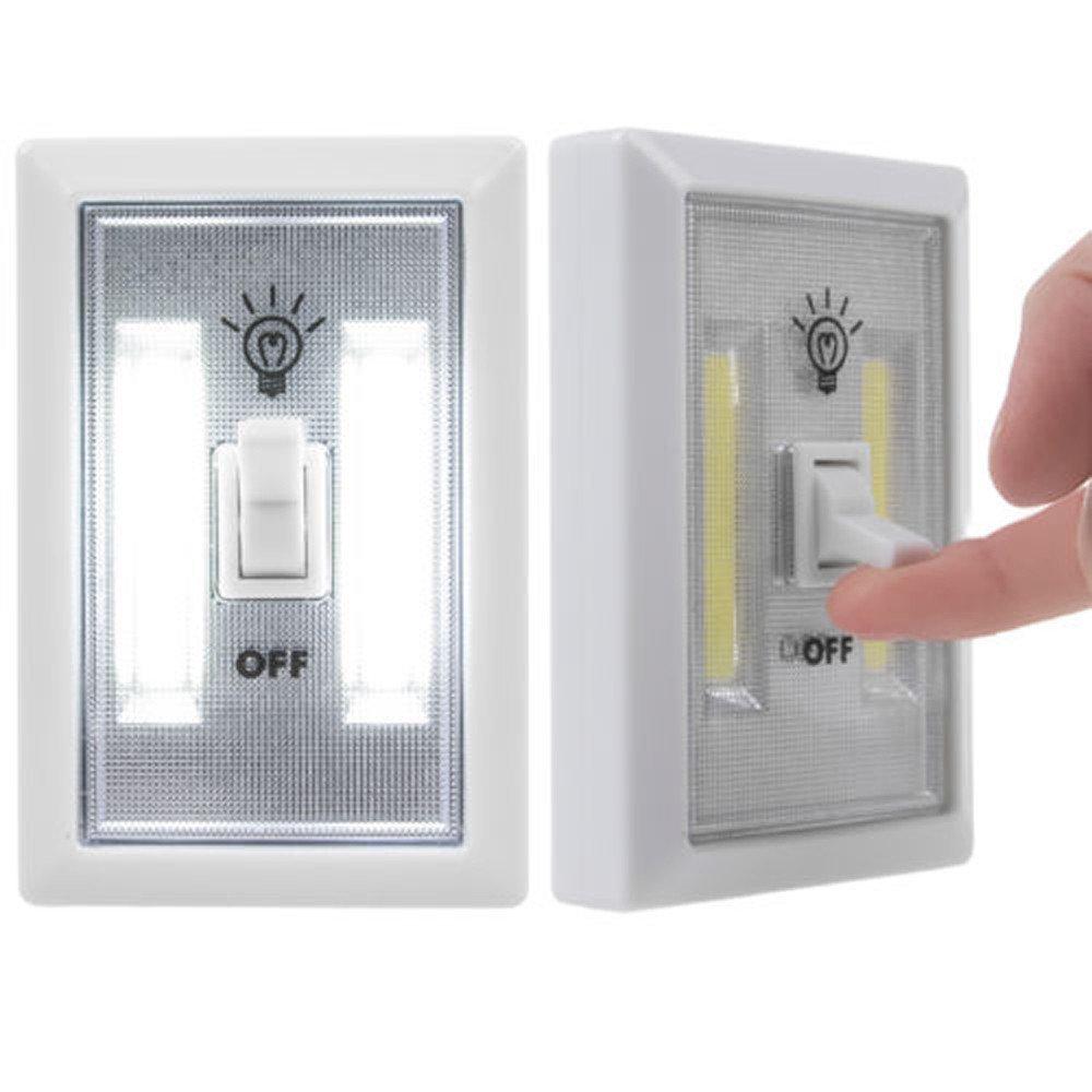 ♛Euone Wine Stopper ♛Clearance♛,COB LED Wall Lighted Switch Wireless Closet Night Light Multi-Use Self-Stick