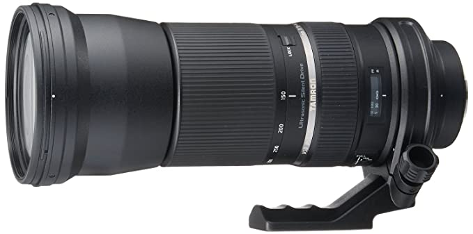 Tamron A011E SP 150 600mm F/5 6.3 Di VC USD Telephoto Zoom Lens for Canon DSLR Camera + 95mm UV Filter Free Camera Lenses