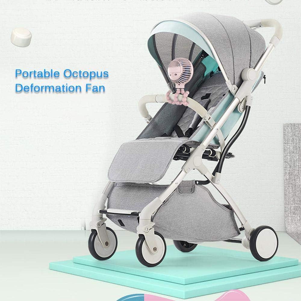 3-Fach Verstellbarer Babyventilator Handventilator F/ür Kinderwagen//Fahrrad//Reise//B/üro LayOPO Mini-Kinderwagen-Handventilator Wiederaufladbarer Tragbarer USB-Tischventilator Mit Flexiblem Stativ