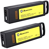 Powerextra 2 Pack 11.1V 6300mAh 10C 3S LiPo Battery Pack for Yuneec Typhoon Q500, Q500+, Q500 4K, Typhoon G Drone - Upgrade