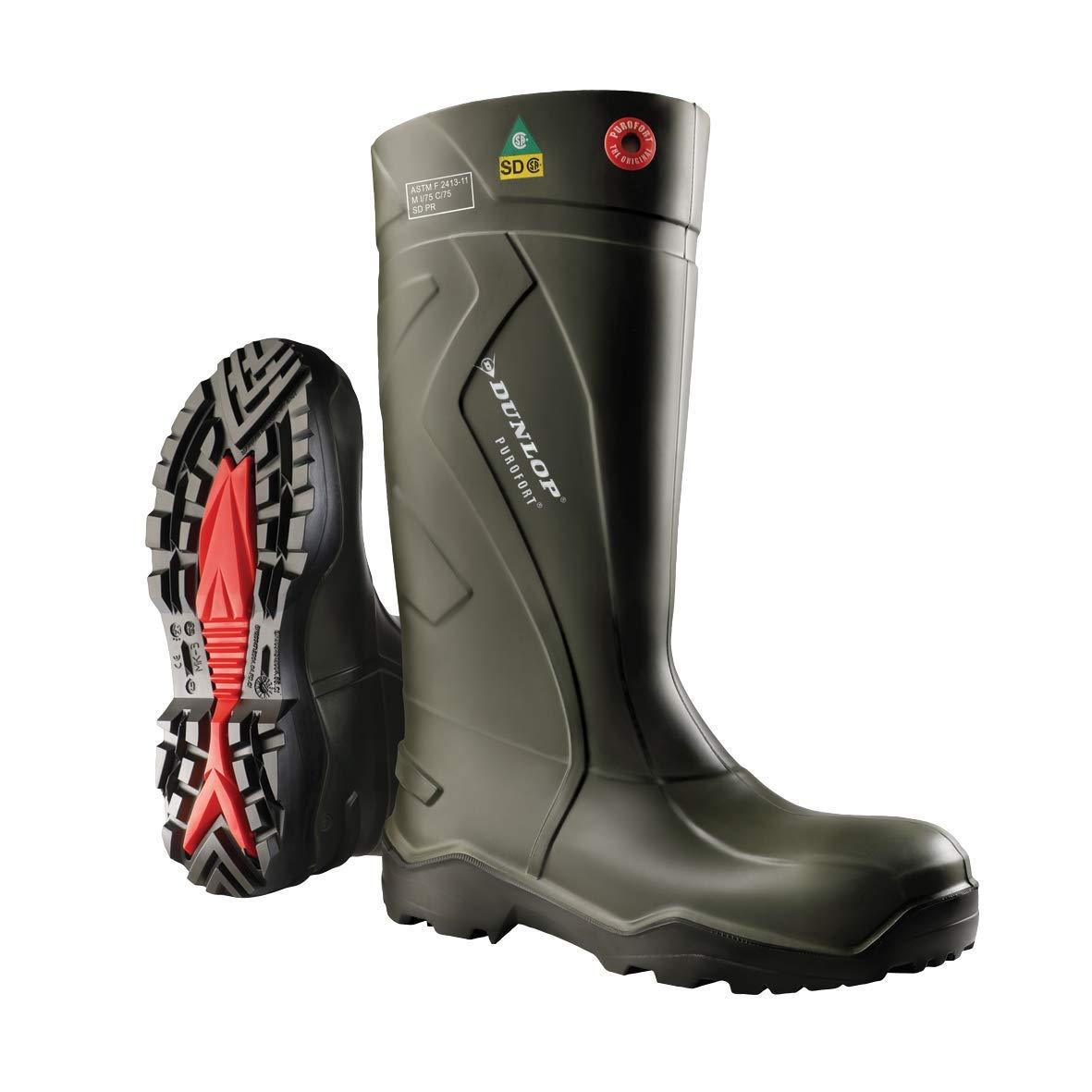 Dunlop Purofort+Full Safety Boot Green