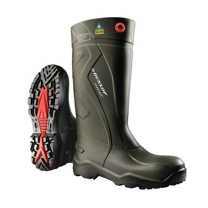 e7dc7ab35da Dunlop Purofort+Full Safety Boot Green