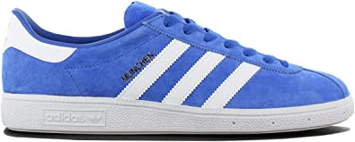 adidas München BY1723 Chaussures pour Hommes Bleu Chaussures