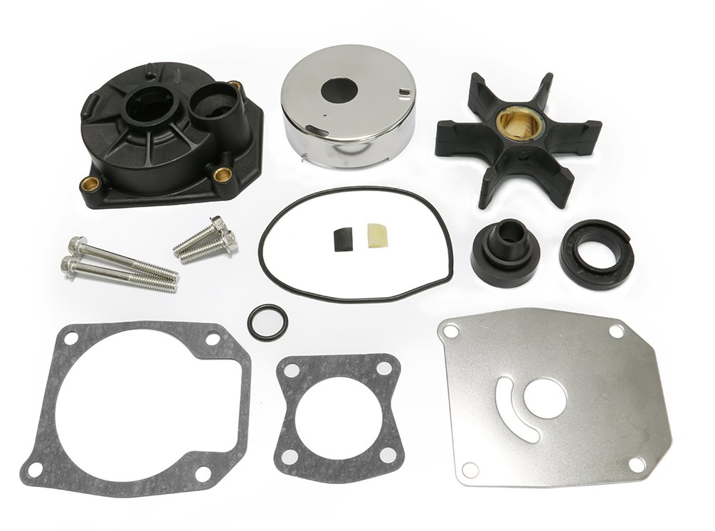 40-60 HP Johnson Evinrude Water Pump Impeller Rebuild Kit Replacement With Housing 5000308 by Full Power Plus