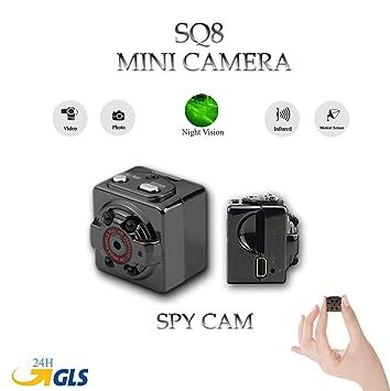 Cámara Mini Full HD SQ8 Micro Camera con visión nocturna por infrarrojos y sensor movimiento Spy