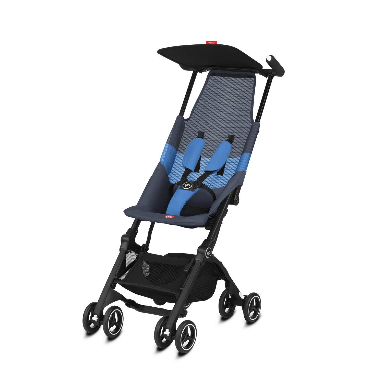 Silla de Paseo Night Blue 17 kg Ultracompacta De 6 Meses a 4 a/ños Gb Gold Pockit Air All Terrain