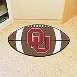 Fanmats Oklahoma Sooners Football-Shaped Mats