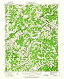 YellowMaps Redbird MO topo map, 1:62500 Scale, 15 X 15 Minute, Historical, 1934, Updated 1962, 20.7 x 16.9 in - Paper