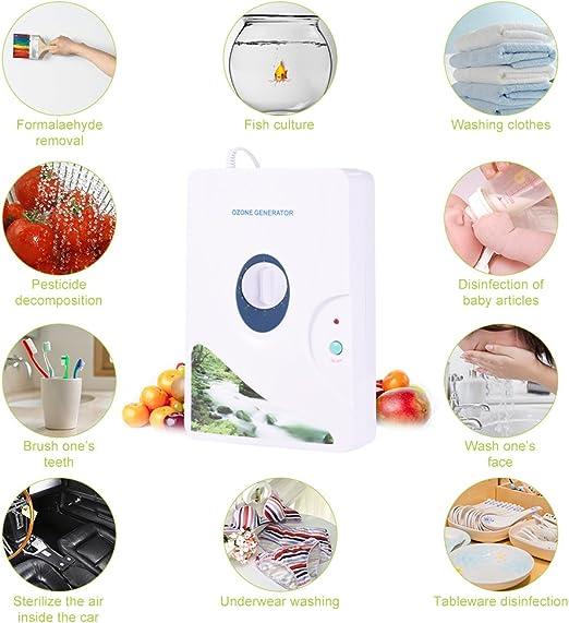 600mg / h Generador digital de ozono Máquinas de desintoxicación ...