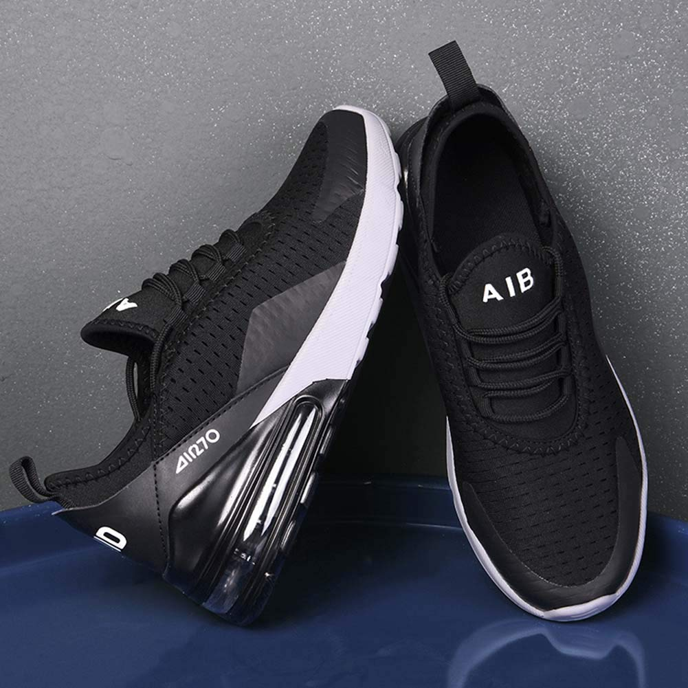 Men Casual Sports Running Shoes Air Trainers Jogging Fitness Shock Absorbing Gym Athletic Sneakers