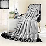 Decorative Throw Blanket Ultra-Plush Comfort grunge color filmstrip texture scratched photo film frame background Soft, Colorful, Oversized   Home, Couch, Outdoor, Travel Use(60''x 50'')