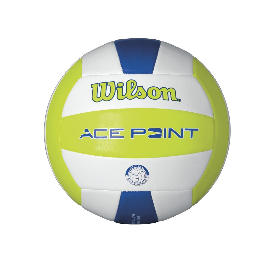 Wilson Beachvolleyball Ace Point, weiß gelb blau weiß gelb blau WTH4500