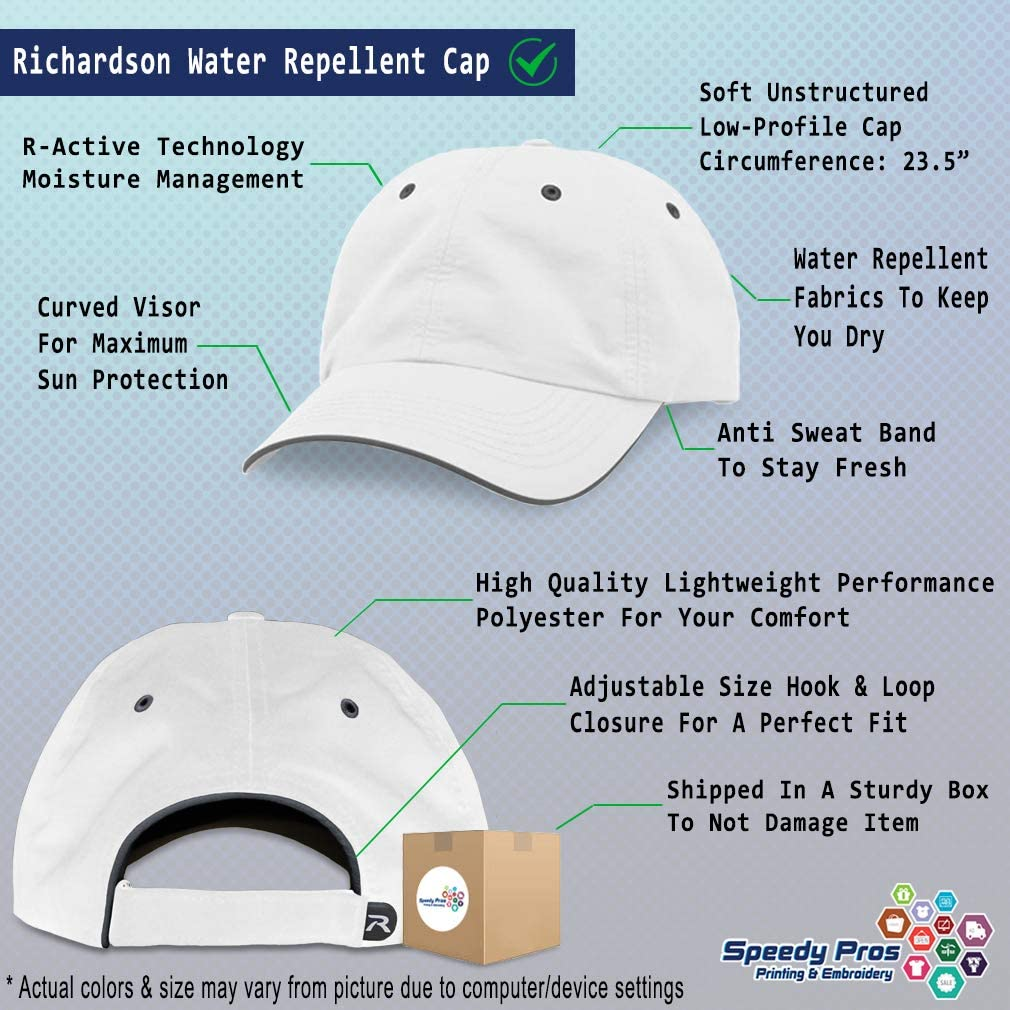 Custom Richardson Running Cap Bible Embroidery Design Polyester Hat Hook /& Loop