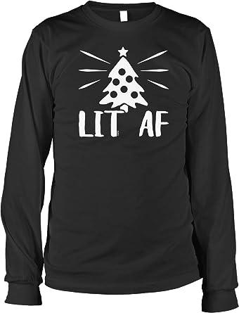 aa7e49f9d5d Amazon.com  NOFO Clothing Co LIT AF Men s Long Sleeve Shirt  Clothing