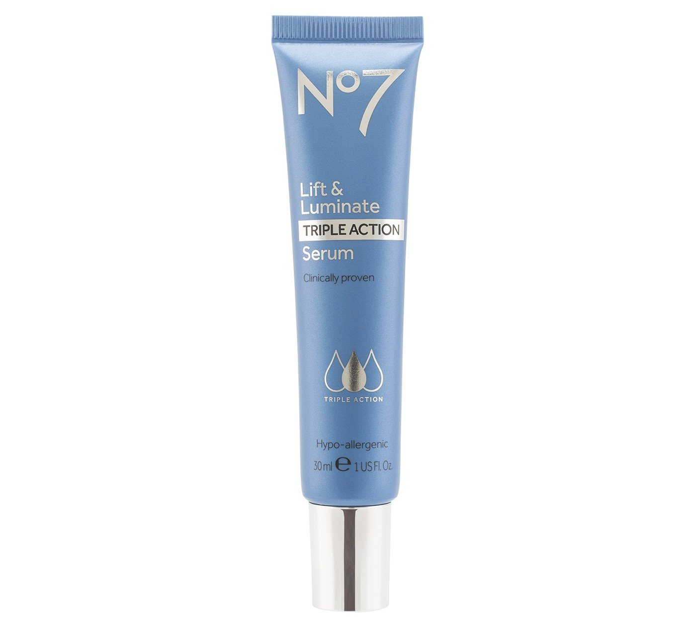 Boots No7 Lift Luminate Triple Action Serum 30ml Visibly Reduces Wrinkles Amazon In Beauty