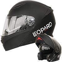 Leopard LEO-888 Doble Visera Casco Moto Modular ECE