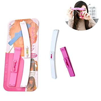 Amazon.com : Xbes Magic Hair Fringe Hair Bangs Cutting Kit Tools ...