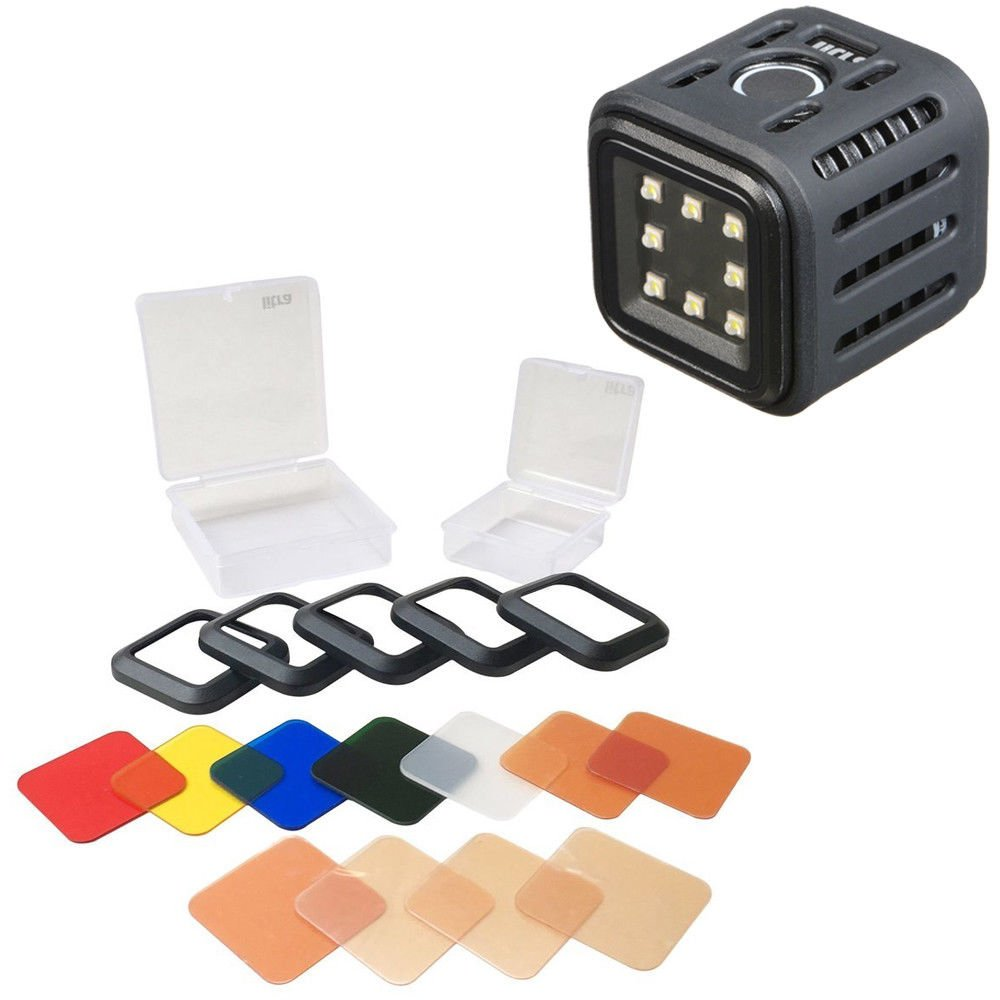 LitraTorch (Water Proof & Drop Proof Action Camera Light) + Litra Filter Set