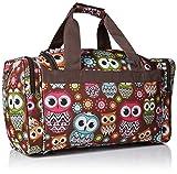 Rockland Duffel Bag, Owl, 19-Inch