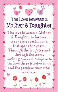 Heartwarmers The Love Between A Mother And Daughter Keepsake Card Envelope K151E
