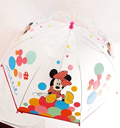 Paraguas Minnie Disney burbuja manual 45cm