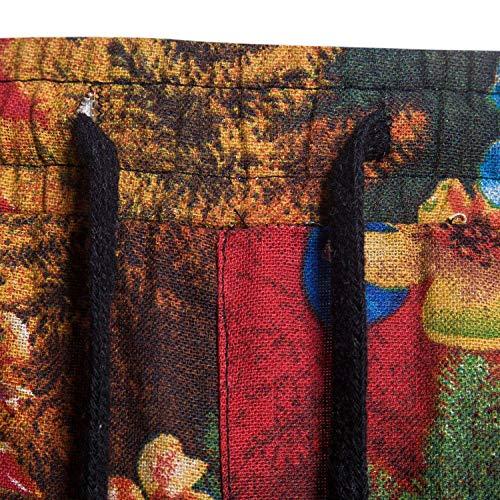 Motif Plage Cordon Long Hommes Tailles Floral Coton Pantalon Vêtements Pour Lin Confortable Mode Décontractés Sarouel f5va7wwx