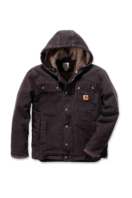 TALLA XX-Large. Carhartt - Chaqueta de invierno resistente con capucha, BW Canvas 102285