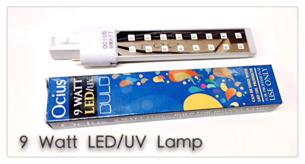 Amazon.com : Ocius 9 Watt Led/uv Bulb : Beauty