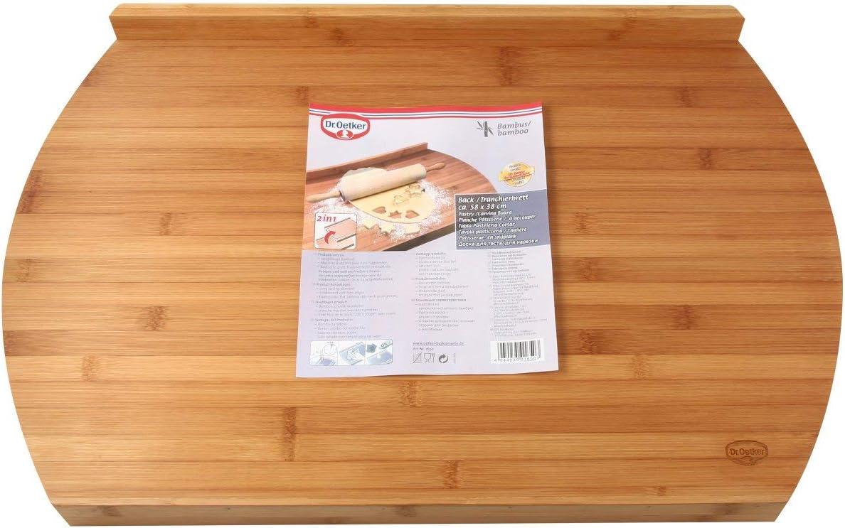 Dr Oetker 1650 59 x 38 x 4 cm Tabla de Cocina