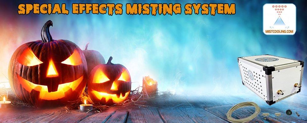Halloween Misting System - Mist Effect for Halloween - 250 PSI Misting Pump - DIY Misting System