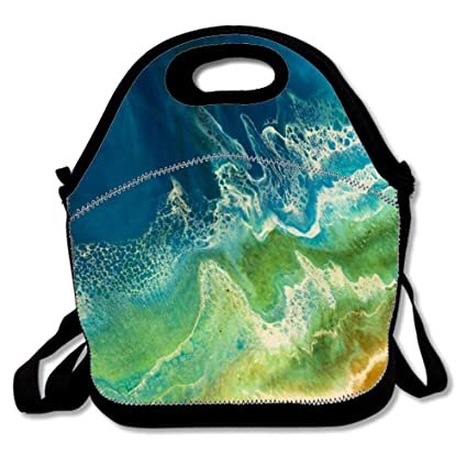 0989a21664c2 Amazon.com: Bliss Hand Lunch Bags Insulated Thermal Cooler Outdoor ...