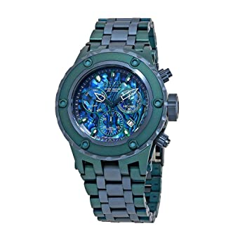 f5bb1a2b5 Image Unavailable. Image not available for. Color: Invicta Reserve  Chronograph Blue Dial Mens Watch 25910