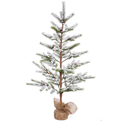 Christmas Tree In The Desert.Amazon Com Vickerman E155150 Unlit Flocked Desert Pine