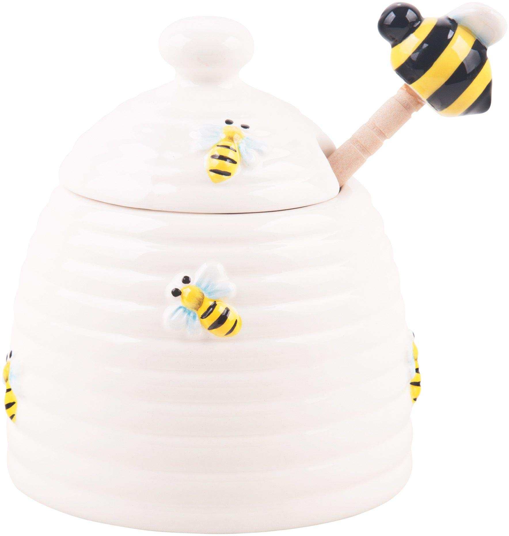 Home Essentials Honey Bee Pot with Dipper by Home Essentials