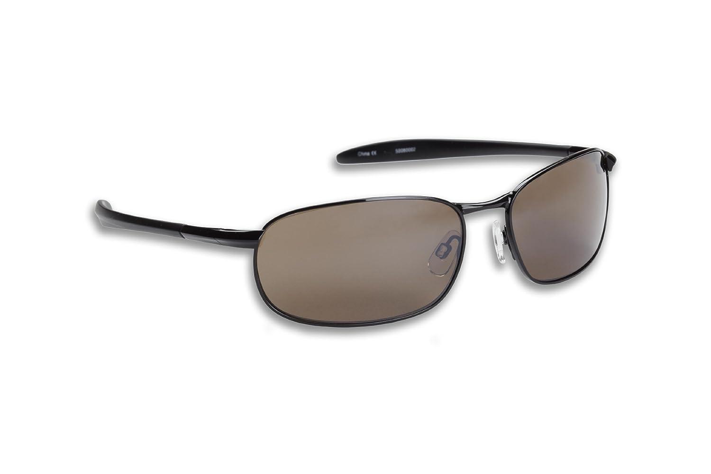 5eb119629c Amazon.com   Fisherman Eyewear Blacktip Original Polarized Sunglasses  (Black Frame
