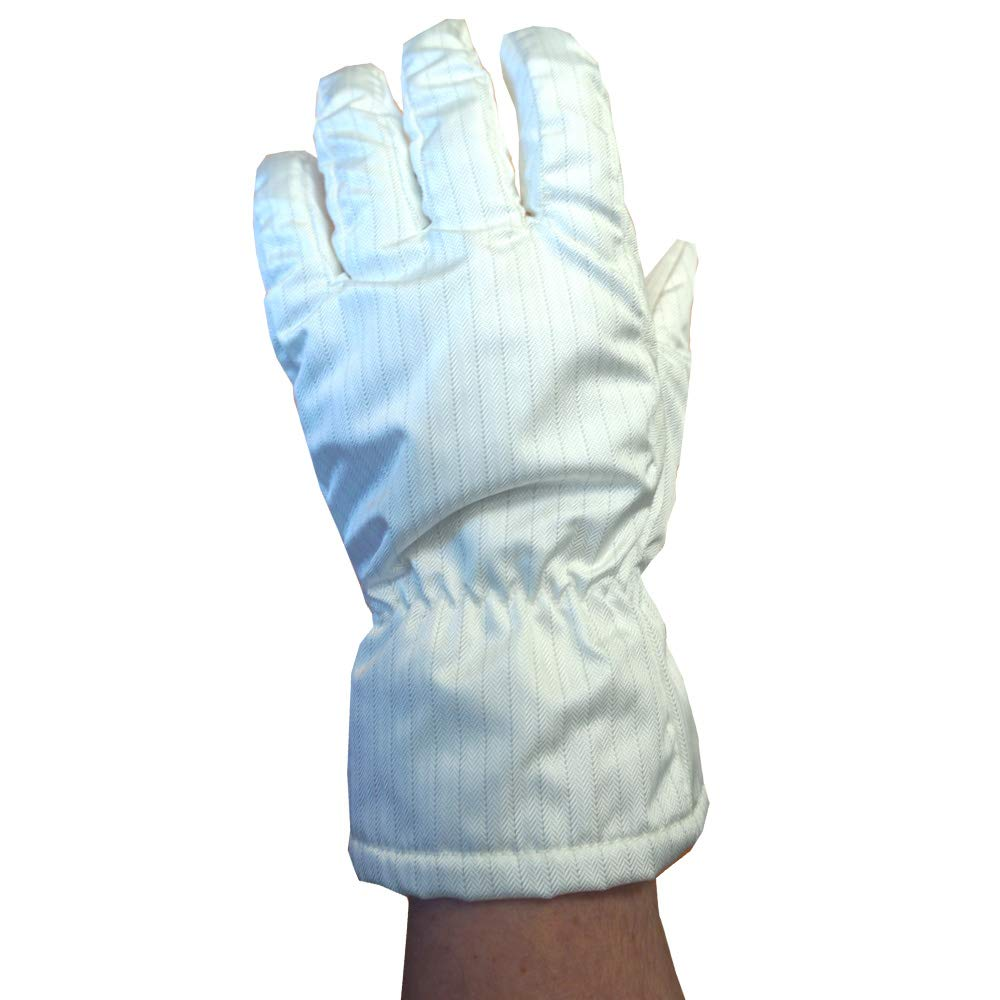Static Care High Heat and Static Safe Hot Gloves - Clean Room Compatible - 11'' Large