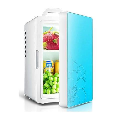 Refrigerador Coche Azul Rojo 16L Refrigeración De Un Solo Núcleo ...
