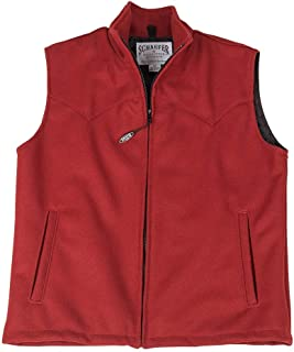 product image for Ladies Wool Arena Vest 730L-RD-06 Color - RED Size - XL