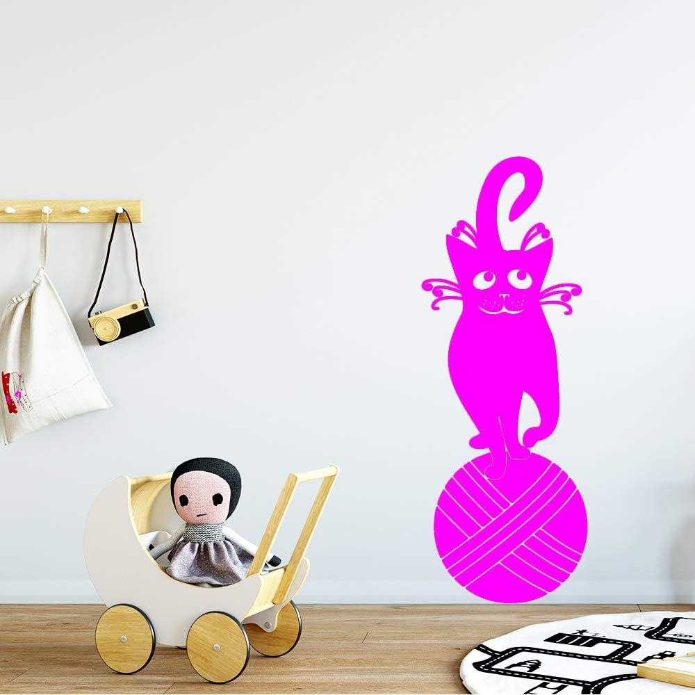 yaoxingfu Fashion Cat Wallpaper Decoración del hogar Etiqueta de ...
