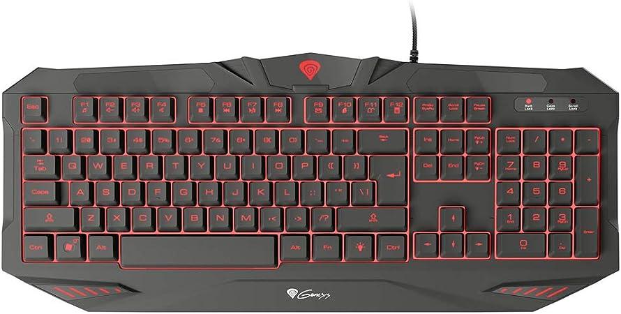 Natec Keyboard Genesis RX39 Gaming Backlight Black USB ...