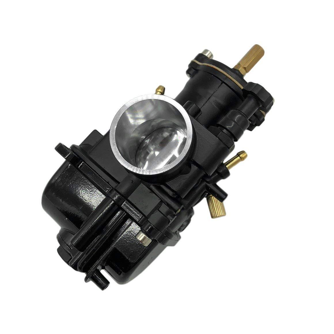 30 MM Funnyrunstore Carburador de alta calidad para motor de motocicleta PWK Carb Gran reemplazo para el accesorio autom/ático de carburador antiguo