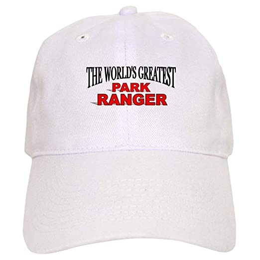 The World s Greatest Park Ranger Cap - Baseball Cap with Adjustable ... f1a0a25068c