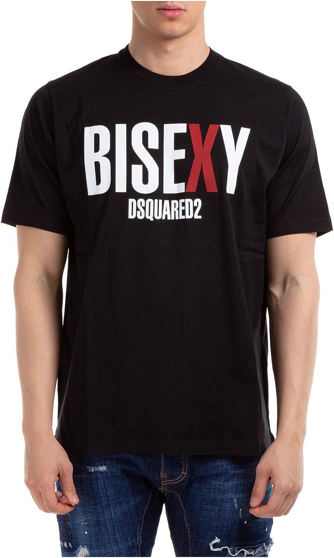 DSQUARED2 Hombre Camiseta Bisexy Nero S: Amazon.es: Ropa y ...