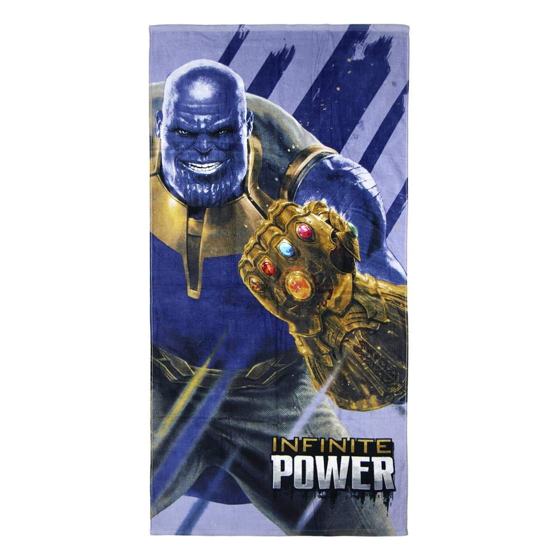 Cerd/á Toalla Algod/ón Avengers Azul 70x140cm